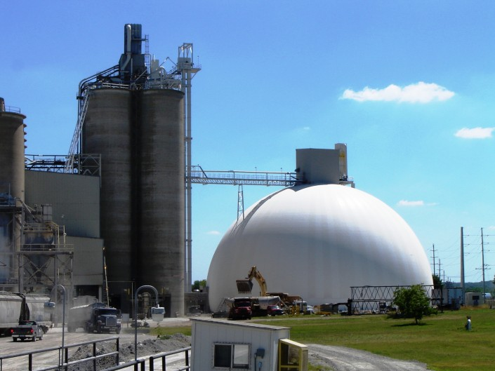 Cement Plant Storage Dome - PENTA Engineering Company
