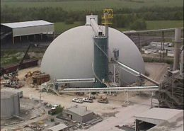 materials handling - Cement Plant Storage Dome - PENTA Engineering Company