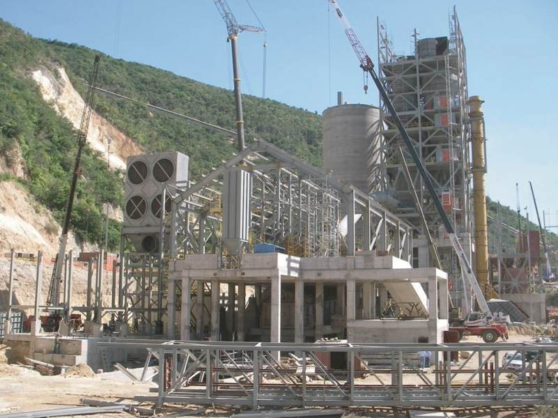 Cement Manufacturing Plants : Cement plant construction management penta engineering