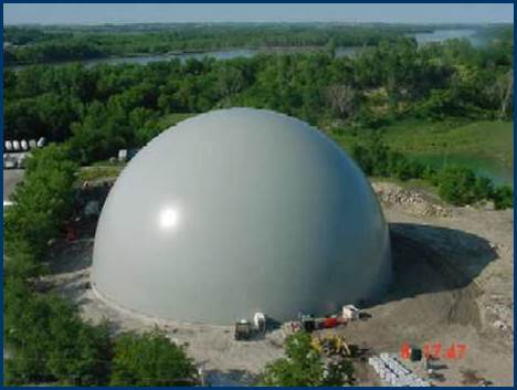storage dome epc project - PENTA Engineering Company